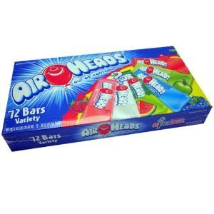 Van Melle Airheads (Airheads Singles Assorted, 72 Count)