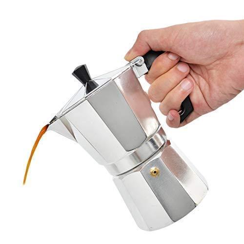 Milky House Moka Pot Coffee Maker Stovetop Espresso Maker ()