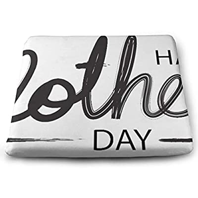 Sanghing Customized Happy Mother Day 1.18 X 15 X 13.7 in Cushion, Suitable for Home Office Dining Chair Cushion, Indoor and Outdoor Cushion.: Home & Kitchen