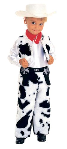 Kids and Toddler Cowboy Costume - Child Small (Cowgirl Costume For Toddler)
