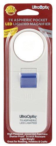 Ultraoptix Inc. (a) Magnifier Pocket Lighted 7X