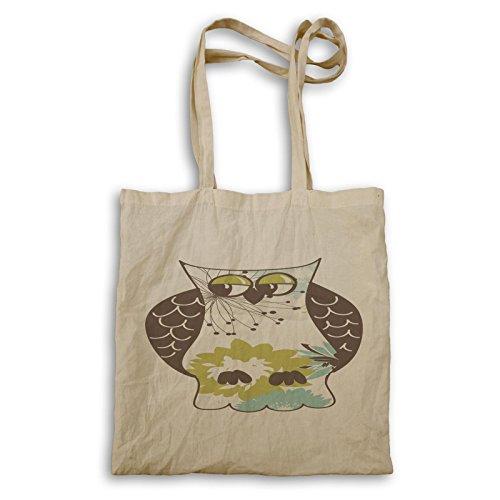 Bellissima Collezione Di Gufi Animali Love Art Tote Bag D548r