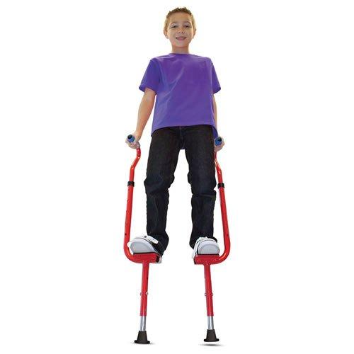 Walkaroo Wee Balance Stilts for Little Kids & Beginners Red or Blue (Assorted)