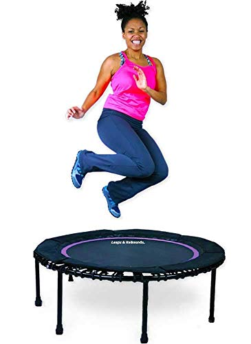 LEAPS & REBOUNDS Bungee Rebounder - in-Home Mini Trampoline...
