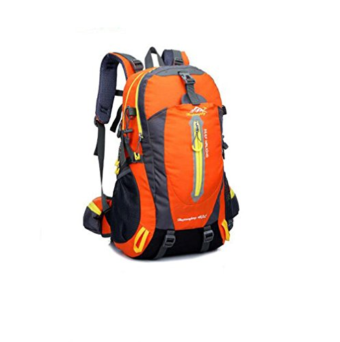Wmshpeds 40L profesional alpinismo bolsa multi-funcional deportes hombro hombres y mujeres bolsa de viaje al aire libre F