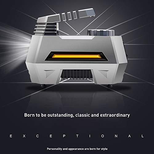 Compressore Portatile Per Auto,120W Dc12V Mini Compressore Portatile,Pompa Di Gonfiaggio Per Pneumatici Con Manometro Digitale E Adattatori Ugelli