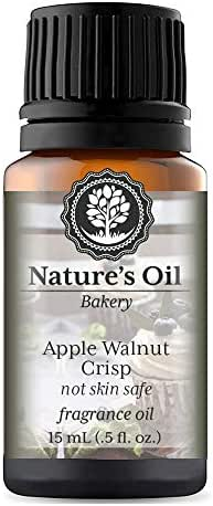 Apple Walnut Crisp Fragrance Oil (15ml) For Diffusers, Candles, Home Scents, Linen Spray, Slime