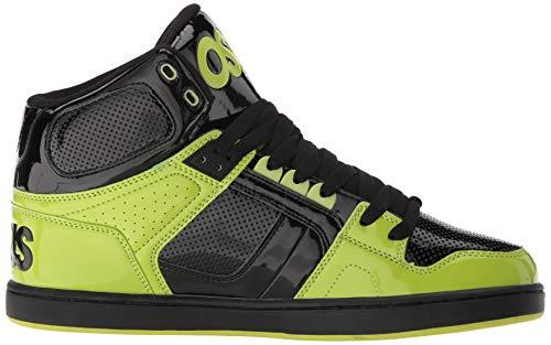 Opal Black Lime CLK' NYC83 Osiris Lime Black Grey xXwItCWCpq
