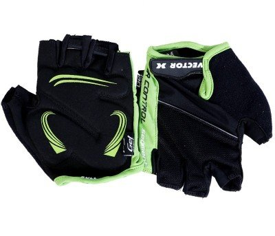 Vector X VX 590 Gym & Fitness Gloves (Green, Black)
