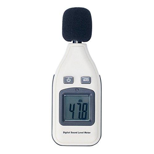 Digital Schallpegel Lärm Messgerät Schallpegelmesser 30-130dB GM1351