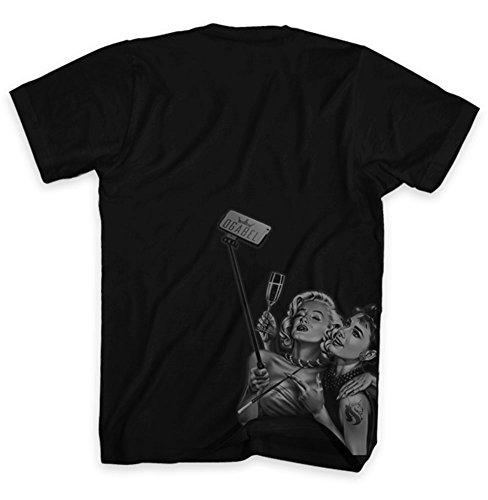 OGABEL Men's Mar Drey SS T Shirt Black
