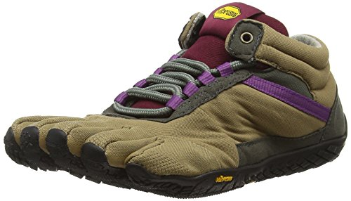Insulated Grape Women's Shoe Trek Women's Vibram Ascent Khaki gRq4zHwx
