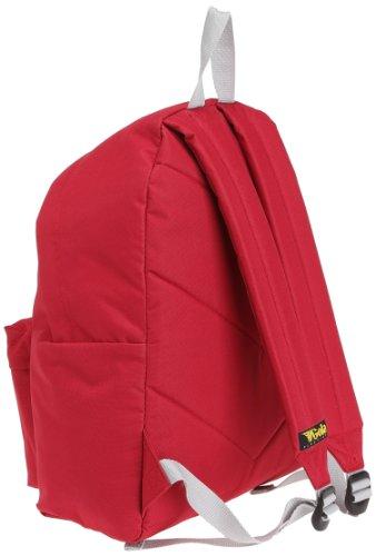 Gola Unisex-Erwachsene Harlow Rucksack, Blau, 33cm wide,43cm high Rojo (Red/Silver)