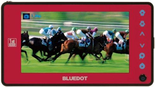 BLUEDOT 4V型 液晶 テレビ BTV-400R B000QUUFUY レッド