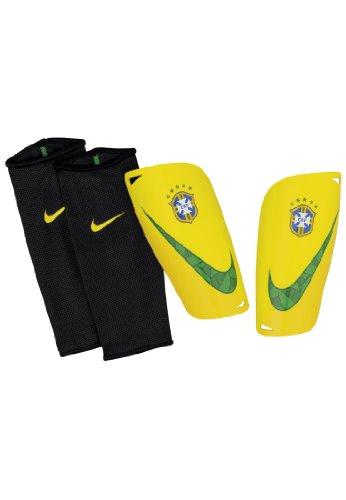 Brazil Mercurial Lite Shine Guards 2014 / 2015 - M (Lite Leg Guards)