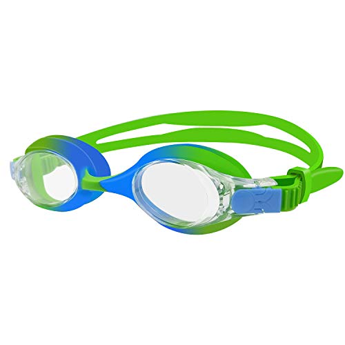 rabofly Kids Swim Goggles, Swimming Goggles No Leaking Anti Fog UV Protection & Quick Adjustable Strap for Child and Youth Ages 4-10