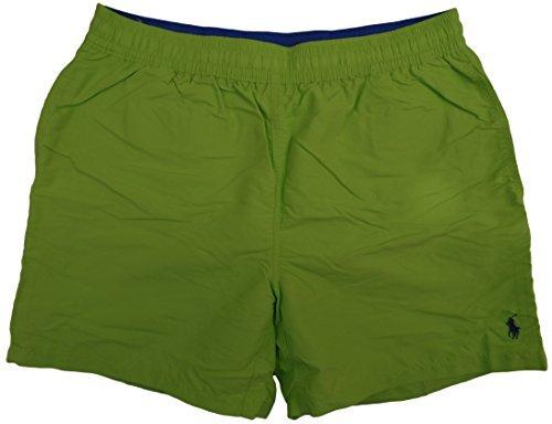 Ralph Lauren Men's Pony Logo Swim Trunks Shorts (XL, Mara...