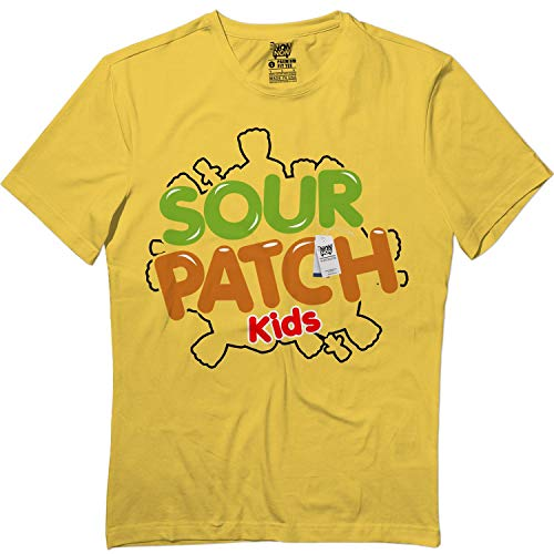 wintertee Sour Candy Kids Halloween Matching Team Group Pajamas T Shirt]()