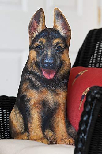 (German Shepherd Doorstop | Dog Decorative Home Decor | Door Stopper | Great Gift for German Shepherd Lovers)