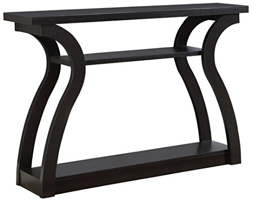 Espresso Collection Foyer Table - Monarch Specialties I 2445, Hall Console, Accent Table, Cappuccino, 47