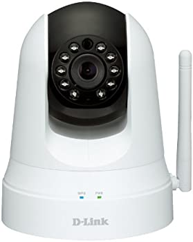 D-Link DCS-5020L Pan and Tilt Network Video Security Camera