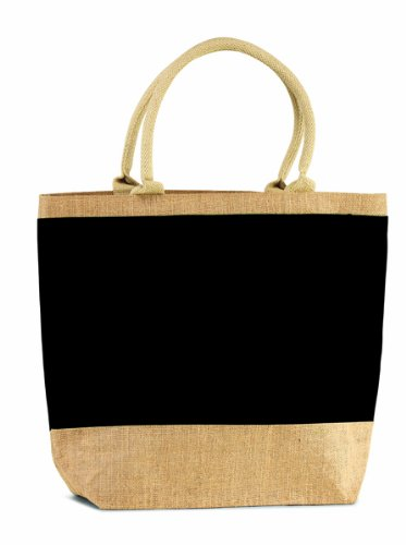 6 Pcs Eco-friendly Reusable Bag Black Eco-friendly Reusable Large Jute/ Burlap Valentines Day Gift ideas Bag with Zippered Closure - Sale Holiday Gift bags