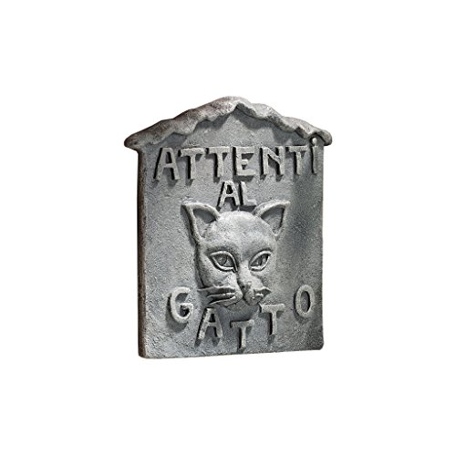 Gargoyle Lawn Ornaments (Design Toscano Beware of Cat Italian