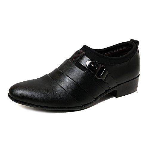 Blivener Slip Para Hombre En Oxford Business Classic Vestido Formal Zapatos Negro