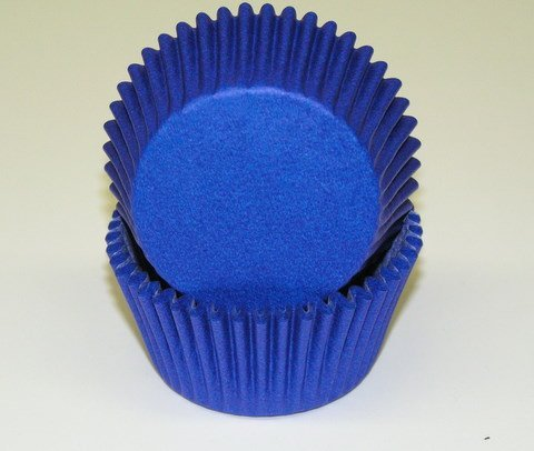Blue Glassine Cupcake Muffine Baking Cups Liners by CK Products