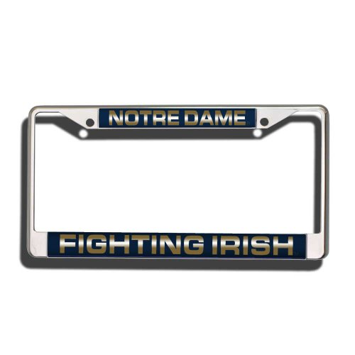 Notre Dame Fighting Irish Fan (NCAA Notre Dame Fighting Irish Laser Cut Chrome Plate Frame)
