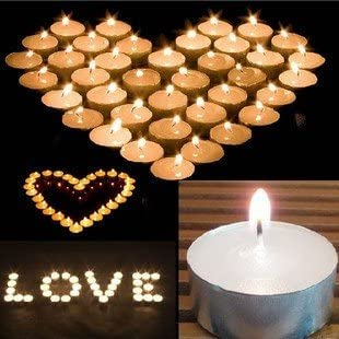 Zion Judaica Quality Tealight Candles 4-4.5 Hour Burn Time Unscented Set of 25 Stark White