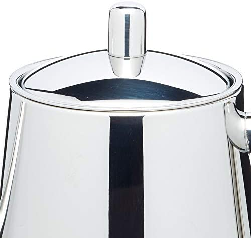 KitchenCraft LeXpress 4-Cup Stainless Steel Teapot with Infuser 800 ml