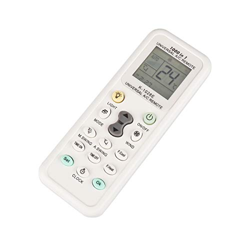 Weiye Air Conditioner Remote AC Control LCD Universal Conditioning Controller 1000 in 1 for Mitsubishi Toshiba HITACHI FUJITSU Daewoo LG Sharp Samsung ELECTROLUX SANYO ()