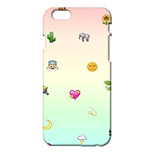 iPhone 6 6s 4.7 (Inch) Emoji Face Cover Case,Classical Lovely Emojis Pattern 3D Hard Phone Case Snap on iPhone 6 6s 4.7 (Inch)