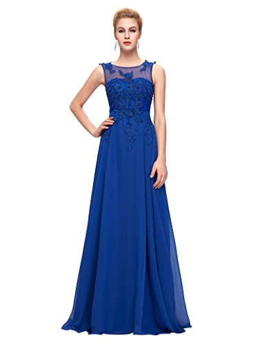 Royal Blue Bridesmaids Formal Gown - 2