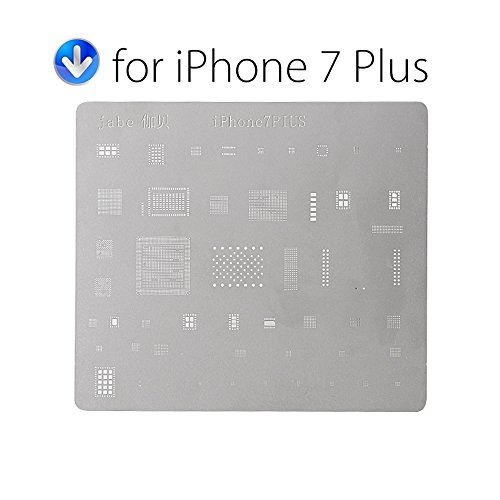 12PCS Motherboard IC Chip Ball Soldering Net Steel Plate for iPhone 7 Plus 7 6s 6 5s 5c 5 4s 4 SE Main Board CPU Repair Tool Set
