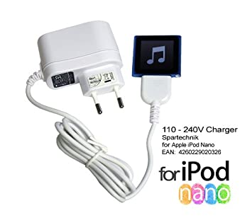 Spartechnik - Cargador para iPod Nano Video y Multitouch ...