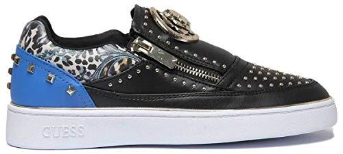 Ecopelle Donna Scarpa Mod Nero Bassa Sneaker Ds19gu03 Beela blu Guess xXwPvX