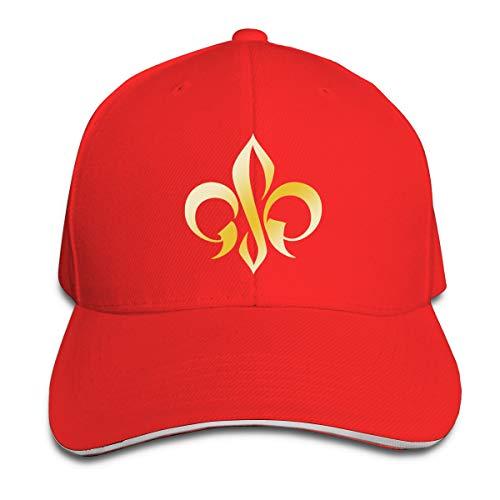 (Unisex Clean Up Adjustable Hat, Adult Adjustable Hat Georges St Pierre Gold Logo Cotton Baseball Cap Dad-Hat )
