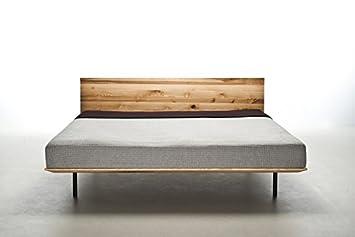 Mazzivo Modo Hochwertiges Holz Bett Schlicht Zeitlos