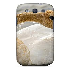 Galaxy S3 Case Cover Skin : Premium High Quality A Young Swan Case