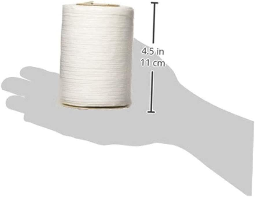 1//4 inch Wide 100 Yards Limited Edition Offray Matte White Raffia Ribbon