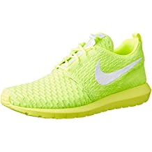 Nike Roshe NM Flyknit Men Lifestyle Casual Sneakers New Volt - 10