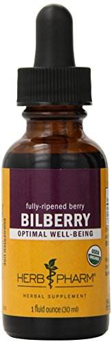 Herb Pharm Bilberry Extract for Eye and Vision Support - 1 Ounce (Bilberry Liquid Extract)