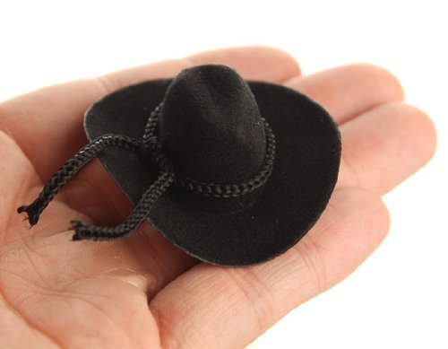 Bulk Buy: Darice Velvet Like Hat With Rope Trim 3/4