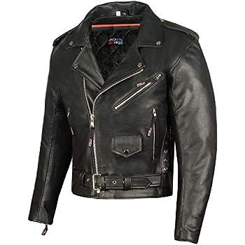 Mens Black Classic Side Laces Motorcycle Biker Leather Waistcoat vest