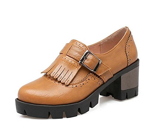 Buckle XIE Shoes 38 43 Walking gray Court YELLOW tacco Belt Retro nappe basso piatto wrCzXrqSHx