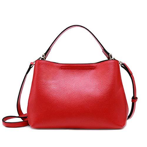 E Borsetta Bag Uso Alla Multifunzione Duplice Casual Borsa Semplice Tracolla A Moda Wild Red Crossbody 1rXHn1
