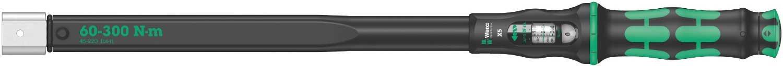 Wera 05075655001 Click-Torque X 5 Drehmomentschlü ssel fü r Einsteckwerkzeuge, 14 x 18 mm, 60-300 Nm