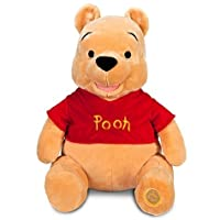 Disney Exclusive Large WINNIE THE POOH Plush Toy -- 18'' H seated by Disney